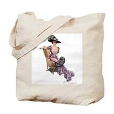 Victorian Lady Harrison Fisher Elegant Tote Bag
