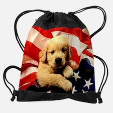 Unique Custom pet flags Drawstring Bag