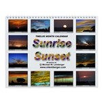 Sunrise, Sunset Wall Calendar