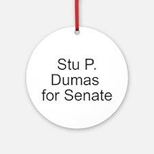 Dumas for Senate Ornament (Round)