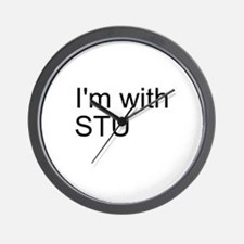 I'm with Stu Wall Clock