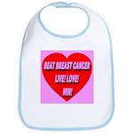 Beat Breast Cancer Live! Love Bib