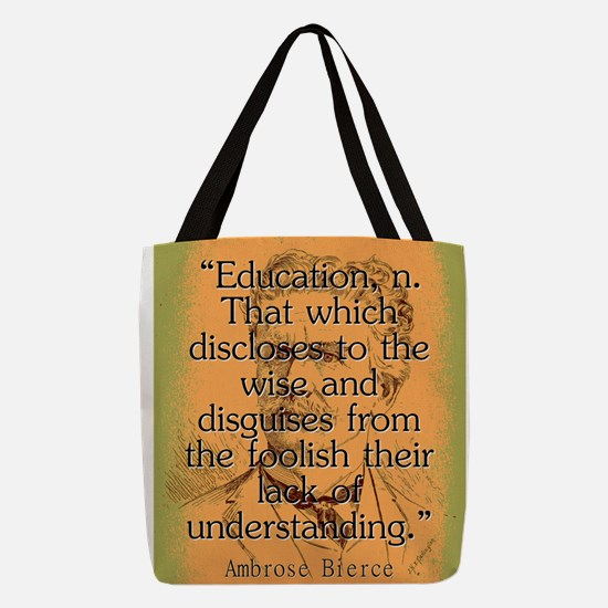 Education - Bierce Polyester Tote Bag