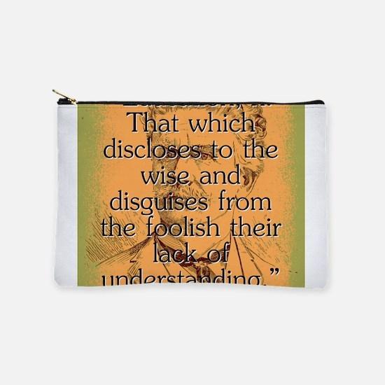 Education - Bierce Makeup Pouch