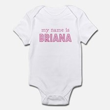 My name is Briana Onesie
