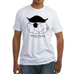 Pirate Warm Fuzzy Fitted T-Shirt