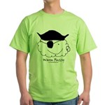 Pirate Warm Fuzzy Green T-Shirt