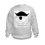 Pirate Warm Fuzzy Kids Sweatshirt
