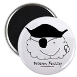 Pirate Warm Fuzzy Magnet