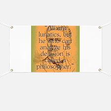 All Are Lunatics - Bierce Banner