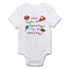 """Nana & Poppy's"" Infant Bodysuit"