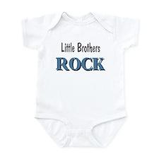 Little Brothers Rock Infant Bodysuit