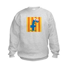 Sweatshirt with the letter f
