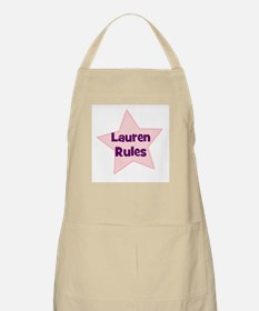 Lauren Rules BBQ Apron