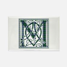 Monogram - MacCallum Rectangle Magnet