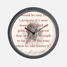 It Would Be Easy To Be A Princess - FH Burnett Wal