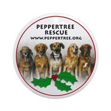 Peppertree Rescue Ornament