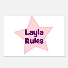 Layla Rules Postcards (Package of 8)