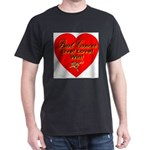 Beat Breast Cancer Live! Love Dark T-Shirt