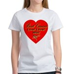 Beat Breast Cancer Live! Love Women's T-Shirt