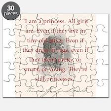 I Am A Princess - FH Burnett Puzzle