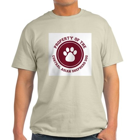 Central Asian Shepherd Dog Ash Grey T-Shirt