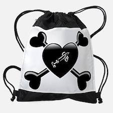 Cute Heart termites Drawstring Bag
