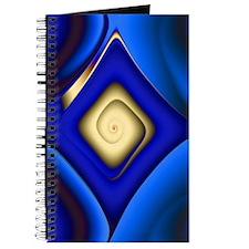 """Gold Curve 2"" Fractal Art Journal"