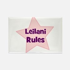 Leilani Rules Rectangle Magnet