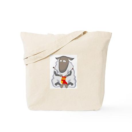 """""""Knitting sheep"""" Tote Bag"""