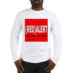 RED ALERT STOP AIDS Long Sleeve T-Shirt