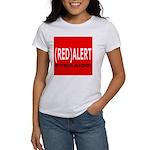 RED ALERT STOP AIDS Women's T-Shirt