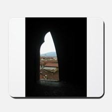 A View Greeting CArd Mousepad