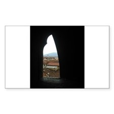 A View Greeting CArd Decal