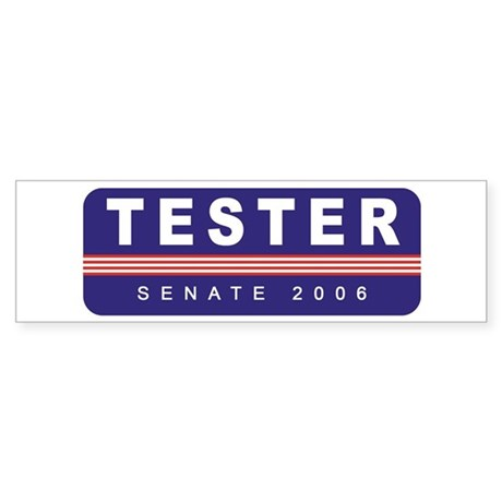 Support Jon Tester Bumper Sticker