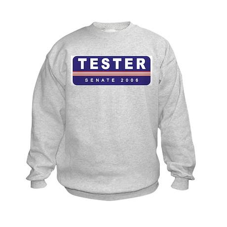 Support Jon Tester Kids Sweatshirt