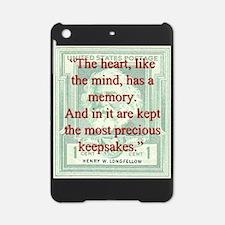 The Heart Like The Mind - Longfellow iPad Mini Cas