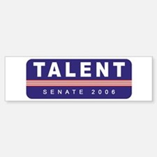 Support Jim Talent Bumper Bumper Bumper Sticker