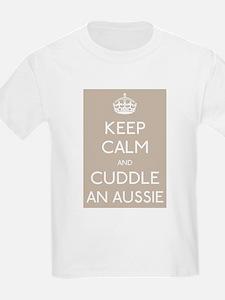 Keep calm and cuddle an aussie T-Shirt
