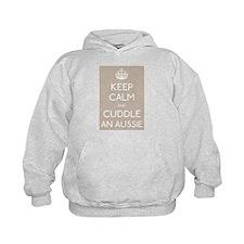 Keep calm and cuddle an aussie Hoodie