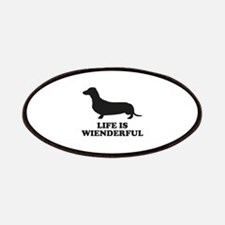 Life Is Wienderful Patches