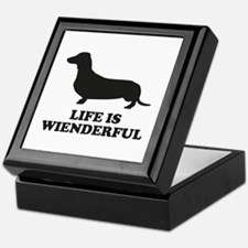Life Is Wienderful Keepsake Box