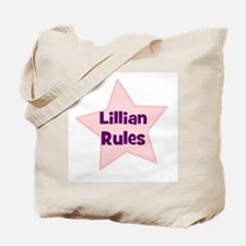 Lillian Rules Tote Bag