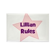 Lillian Rules Rectangle Magnet