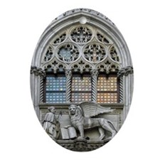 Italy, Venice, St Mark's Square, D Ornament (Oval)