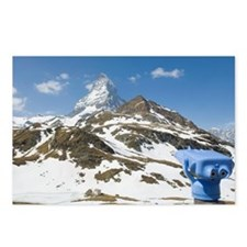 Matterhorn with coin oper Postcards (Package of 8)