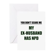 My Ex-Husband Has NPD Greeting Cards (Pk of 10