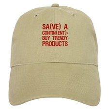 """Save a Continent: Buy..."" Baseball Cap"