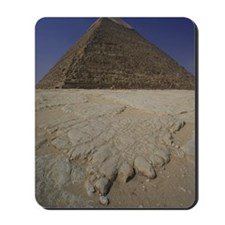 Egypt, Giza, Pyramid of Khafre (Chephren) Mousepad