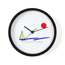 Van Damme Sp Wall Clock